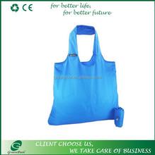 Wholesale fashion new polyester shopping bags China folding bag