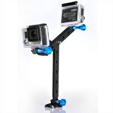 Smatree Aluminum Go pro Arm- Helmet Extension Mount and Surf Mount Screw Knob Bolt for Go Pro Camera