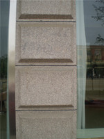 G664 China pink Granite Outdoor Dry-hanging Wall Tiles