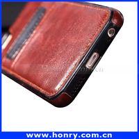 Wholesale in alibaba for iphone 6s mobile phone leather wallet back cover case with card holder