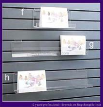 Wall Mounted Clear Acrylic Display Shelf