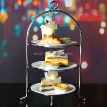 wholesale customized table top stand for wedding cake