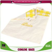 2014 Hot Chinese Style Environmental Natural Recycled Cotton Canvas Tote Bags