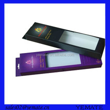 Colorful high quality packaging for weave hair packaging with window