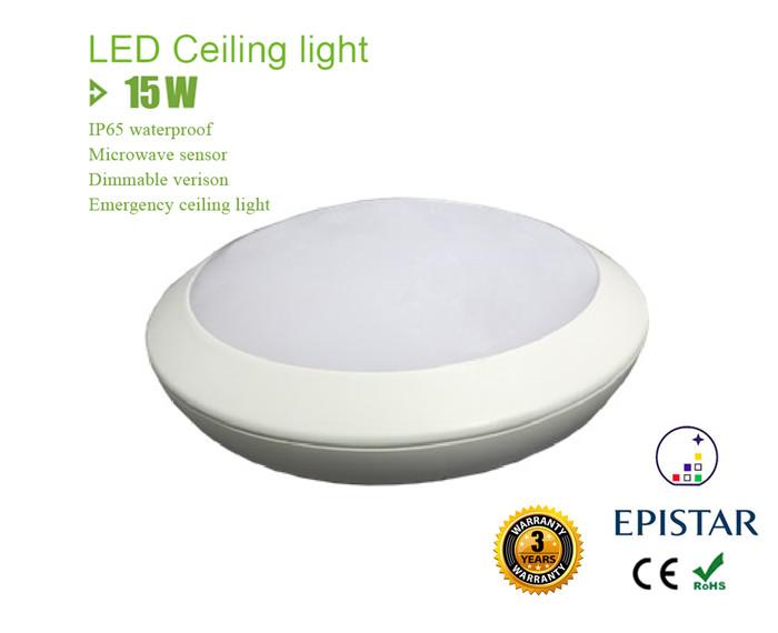 ip65 15w led ceiling light