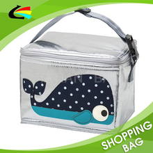 Tough PU fabric Logo Animals Sewed Waterproof Lunch Thermal Bag Insulated Cooler
