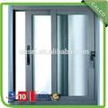 profesional de doble acristalamiento exterior de aluminio con puertas correderas