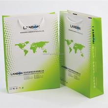 2015 China factory custom shopping paper bag , kraft paper bag