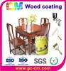 Wood decorative varnish water based wood coating