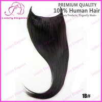Fast Shipping Cheap One Piece Clip In Hair Extension Natural Black Flip In