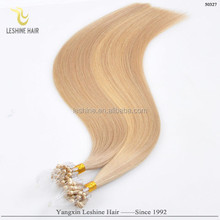 Golden Supplier Good Feedback Wholesale Brand Name Beauty Works micro fiber hair extensions