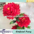 décoration à la maison à longue tige pivoine fleur en soie