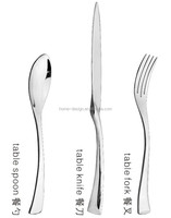 stainless steel royal cutlery set wholesale/wedding cutlery/stainless steel royal flatware