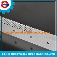 Hot sale China m6 spur steel gear rack aluminium sliding door track with sliding gate