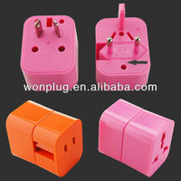 All in one mini size universal plug travel adapter include UK/US/AUS/EU plugs