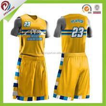 blank mesh short sleeves cheap reversible basketball jerseys