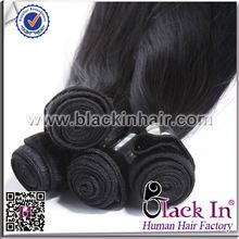 5A grade human Brazilian Straight Hair Weave fake hair for braiding