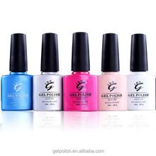 IBN High 117 hot color gloss high quality gel uv polish for nail art use