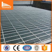 Factory direct sale hot dip galvanized steel grating weight