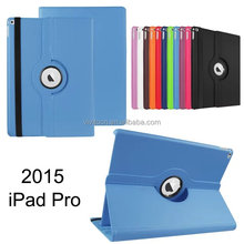 360 Degree Rotating Litchi PU Leather Skin Case Cover For iPad Pro 12.9 inch