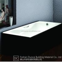 Cheap Cast Iron Enamel Steel Drop in Bathtubs (CZ-J009C)