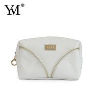 2015 beauty modella custom fashion toiletry zippered luxury small pu makeup bag for cosmetic