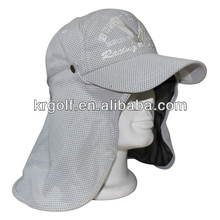 New Neck guard Cap Detachable Sports Golf Hat Japanese caps, golf hat wholesale