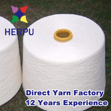30s poly ring spun yarn for fabric