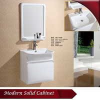 HS-G13166 wall mount cabinet/ french white vanity/ vanity units for small bathrooms