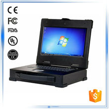 "14""i5 CPU 4G RAM SSD120G 2PCI slot 2LAN 4USB 1DVI 1COM fully rugged industrial convertible laptop computer"