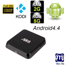 Orginal Factory M8 android media player S802 quad-core kodi tv boxes