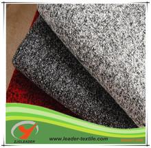 Mixed gray woolen knit garments fabrics