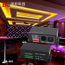 Constant Voltage 12V led rgb dmx controller dmx512 decoder led driver for DMX light controller