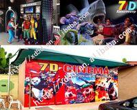 Amusement park 2015 Latest OEM 2 seats mini 5D cinema,truck mobile 5d cinema,7d cinema for sale