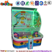 coin operated electronic basketball game/basketball game machine/kid basketball arcade game machine NA-QF804