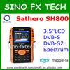 mini portable DVB-S/S2 digital satellite tv Finder Sathero sh800 hd