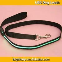 100pcs Wholesale Nylon LED Light Leashes for Dog Safety 7 Colour Glowing Bright Flashing LED Leash DL2507