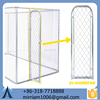 2015 Hot dipped Galvanized dog kennel dog house for sale (factory&exporter)