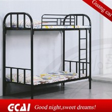 The cheapest design duble decker constrution site dormitory metal slat bed base