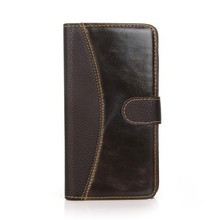 Top popular wallet design PU phone case for Samsung Galaxy Note 4