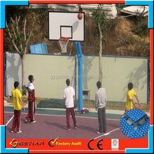 indoor/outdoor price court floor basket ball new arrival
