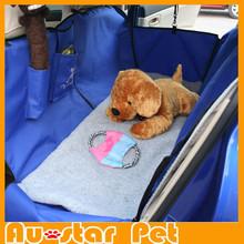 2015 Newest Hot Dog Car Cat Car Accessory Hammock Waterproof Warn Dog Rear Seat Cover