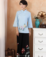 Newest Design Chinese Traditional Uniform Hotel Front Office