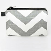 Fashion chevron purse wallet coin purse