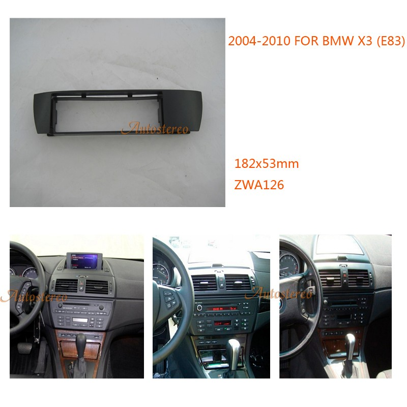 bmw x3 car radio fitting kit installation fascia for bmw. Black Bedroom Furniture Sets. Home Design Ideas