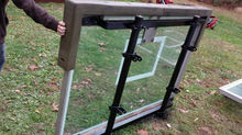 The Beast Portable Glass Backboard Basketball Hoop System NBA Glass Backboard Basketball Hoop