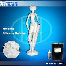 liquid silicone for concrete fencing moulds of garden white cement statue