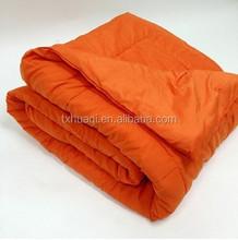 solid color microfibre quilt