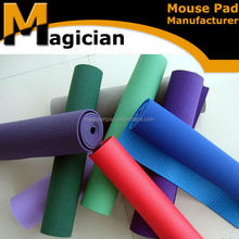 custom printing eco-friendly yoga mat with carrying strap