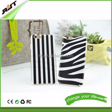 Hotsale 2015 HOT newest arrival soft TPU zebra pattern phone case factory price for iphone 6 / iphone 6 plus